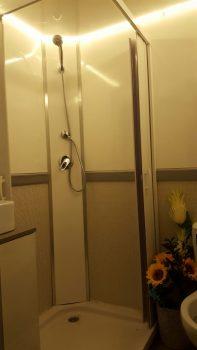 מקלחון זכוכית נייד