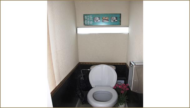 תמונת שירותים מבפנים